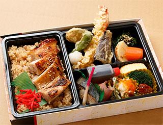 天ぷら若鶏西京焼き重幕の内弁当